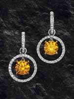 Style: 122055 - Fancy diamond earring2.  Click the image for details.