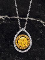 Style: 122444 - Fancy diamond pendant.  Click the image for details.