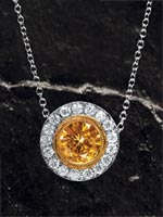 Style: PNRDMED - Fancy diamond pendant.  Click the image for details.